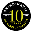 Skindinavia 10 years of perfection badge